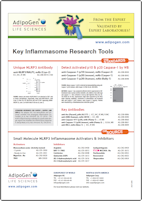 AdipoGen Key Inflammasome Tools