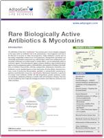 Adipogen Rare Biologically Active Antibiotics Mycotoxins Brochure