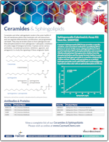 Cayman Ceramides and Sphingolipids