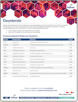 Cayman Oxysterols for Mass Spec